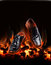 Free Business Shoes Dancing Over Fire Royalty Free Stock Image - 34959616
