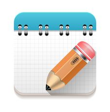 Free Spiral Notebook With Pencil. Royalty Free Stock Photo - 34963955