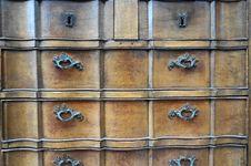 Free Closet With Draws Stock Image - 34965261