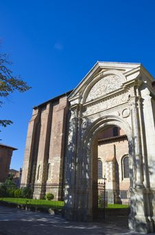 Church Toulouse France Royalty Free Stock Photo