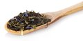 Free Fragrant Dry Tea Leaves With Cornflowers In The Royalty Free Stock Images - 34977959