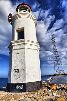 Free Sea Beacon Royalty Free Stock Images - 34970219