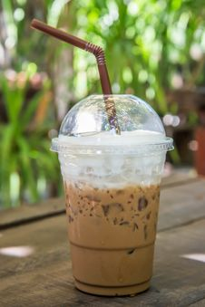 Free Iced Coffee Royalty Free Stock Photography - 34971507