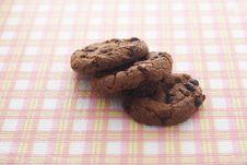 Free Chocolate Cookies Stock Photo - 34971590