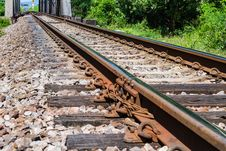 Free Railway Track Royalty Free Stock Images - 34973439