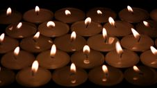 Free The Candles Die Away Stock Photography - 34975842