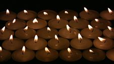 Free Candles Royalty Free Stock Image - 34975986