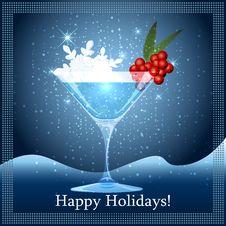 Free Snowflake Cocktail Royalty Free Stock Image - 34978136