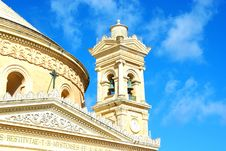 Free Church In Malta Royalty Free Stock Photos - 34980338