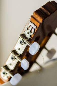 Free Guitar Head Royalty Free Stock Photo - 34982475