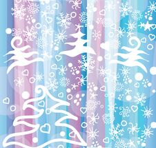 Free Winter Decoration Background Royalty Free Stock Photography - 34983997