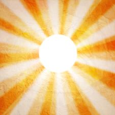 Free Abstract Background With The Sun Royalty Free Stock Photo - 34985285
