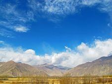 Free Natural Scenery Of Tibet Royalty Free Stock Image - 34988946