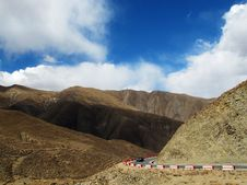 Free Tibet Plateau Road Stock Photography - 34989262