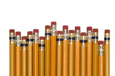 Free Pencils Shot Close Up Stock Image - 34989521