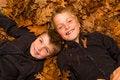 Free Autumn Kids Royalty Free Stock Photo - 34991165