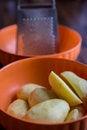 Free Grating Potatoes Royalty Free Stock Photography - 34994547