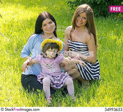 Free Happy Family Stock Photos - 34993653