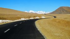 Free Tibet Plateau Road Stock Images - 34991424