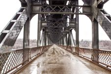 Free A Steel Bridge Stock Photography - 34992132