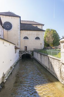 Free River In Annecy Stock Images - 34996464