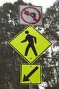 Free Pedestrian Roadsign Stock Image - 355241