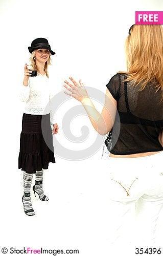 Free Glam Girls Royalty Free Stock Image - 354396