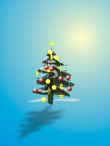 Free Christmas Tree Stock Photo - 350720