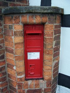 Free Victorian Post Box Royalty Free Stock Images - 350859
