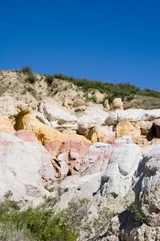 Paint Mines 10 Royalty Free Stock Photo