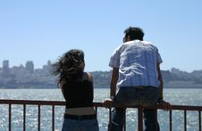 Free Lovers On The Bay Stock Photo - 351250