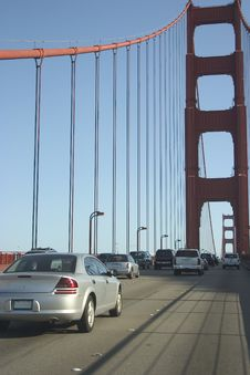 Free Golden Gate 5 Royalty Free Stock Photography - 351297