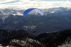 Free Paragliding Royalty Free Stock Photo - 351985