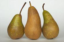 Free Three Of Pear Royalty Free Stock Photo - 353005