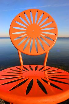 Free Uw Chairs Orange 2 Royalty Free Stock Images - 353069