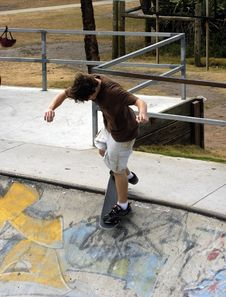 Free Skateboarder. Royalty Free Stock Images - 353319