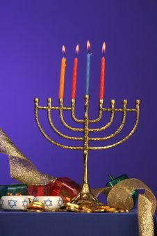 Free Menorah Series 4 Stock Photo - 353960