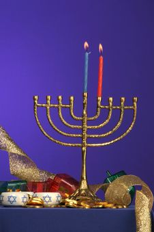 Free Menorah Series 2 Stock Photography - 353962