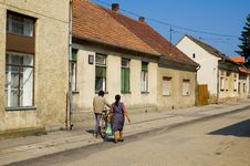 Free Street In Hungarian Town Royalty Free Stock Photo - 354015