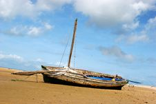 Free Boat On The Beach Stock Photos - 354053