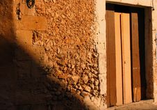 Free Old Spanish Door Stock Image - 354771