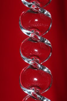 Free Glass Reflecting Red Royalty Free Stock Photo - 355025