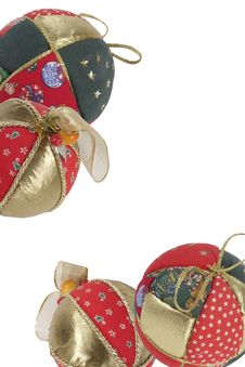 Free Christmas Balls Royalty Free Stock Photos - 355398