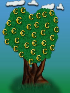 Free Money Tree Royalty Free Stock Image - 357436