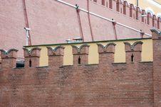 Free Moscow Kremlin Wall Stock Photo - 358750