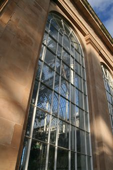 Free Botanical Gardens Glasshouse Window Stock Photography - 359172