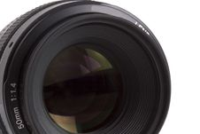 50mm SLR Lens 3 Stock Images