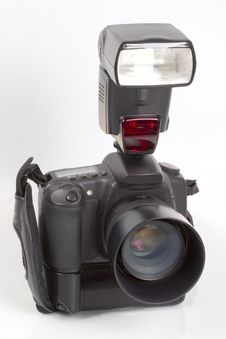 Free Digital SLR Camera Stock Image - 359311