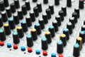 Free Sound Mixer. Selective Focus Royalty Free Stock Images - 3502209