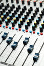 Free Sound Mixer. Selective Focus Stock Photo - 3502210